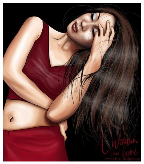 Lucy Liu por Camille
